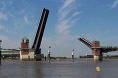 Jan-Berghaus-Brücke Leer, Ostfriesland
