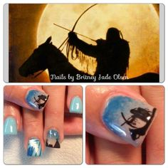 Nails Western Nails, American Nails, Different Kinds Of Art, Finger Nail Art, Native American Design, Cute Nail Designs, Beauty Nails, How To Do Nails, Cute Nails