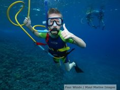 SNUBA is perfect for kids of ALL ages (well, 8 and up)! What a wonderful way to explore the under-water world, whether at Coral Gardens or Molokini Crater!