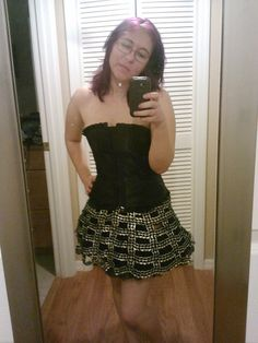 soda pop can tabs skirt