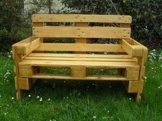 OBI Selbstgemacht! - Gartenbank aus Euro Paletten - Selbstgemacht! Community
