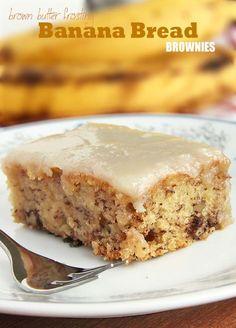 Banana Bread Brownies by Sugar Apron