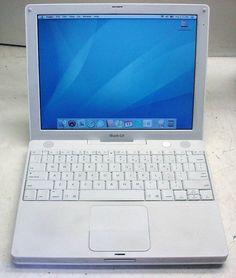 "Apple iBook A1054 G4 800MHz/256MB/30GB/cd-rom/OSX10.4.11/12.1"" display 718908514696 | eBay"