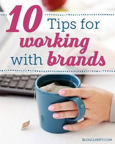 10 Tips for Working with Brands- must-read tips straight from brands and PR firms