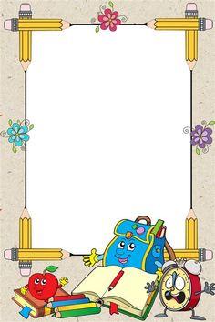 Boarder Designs, Frame Border Design, Page Borders Design, Kids Background, Poster Background Design, Teachers Day Drawing, School Board Decoration, School Border, Boarders And Frames