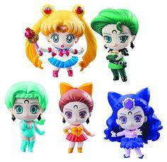 Megahouse Pretty Soldier Sailor Moon Petit Chara! Ayakash...