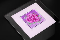 This elegant rose blossom pattern set was made in mixture of various colors and contains precision-cut natural gemstones, including 330 pcs of Rubies, 410 pcs of Pink Sapphire, 237 pcs of Tsavorites, 704 pcs of Amethysts, 168 pcs of White Sapphire and 175 pcs of Blue Sapphire.