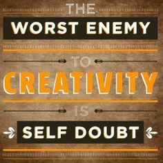 #motivaton #inspiration #amwriting {Megaphone Society} Creativity quote via www.Facebook.com/SkillShare