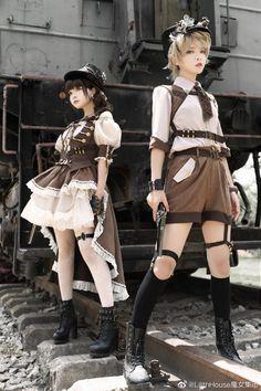 Harajuku Fashion, Kawaii Fashion, Lolita Fashion, Cute Fashion, Style Lolita, Mode Lolita, Cosplay Outfits, Anime Outfits, Old Fashion Dresses