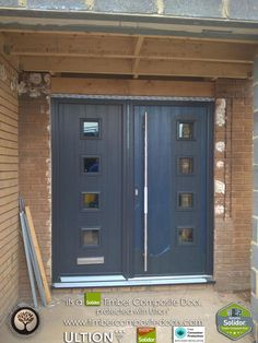 Contemporary Italia, Solidor Composite Doors by Timber Composite Doors are brought to you with our Italia Range of Timber Core Doors. Italia doors emanate modern Italian elegance that is fused with British craftsmanship. Door Images, Composite Door, Free Credit, Parma, French Doors, 12 Months, Locks, Composition, Garage Doors