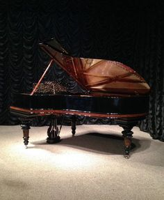 Steinway & Sons Model B Victorian Style Concert Grand Piano | The Antique Piano Shop