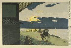 Picture of the Sunrise at Hyapongui, Ryôguku, Edo (Toto Ryôgoku Hyapongui akatsuki no zu) | Harvard Art Museums