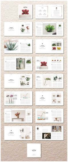 Square Portfolio/Magazine by MA-KING_ART on @creativemarket