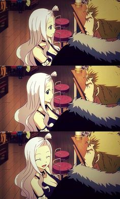 Mirajane and Laxus