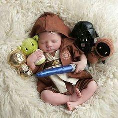 ensaio newborn Star Wars
