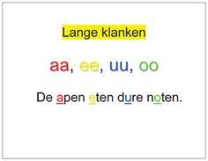 #Hulpkaart spelling > Lange klanken