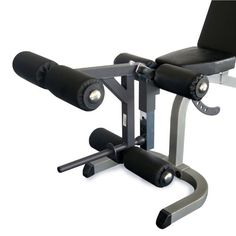 Powerline Leg Developer Attachment for the Powerline Bench: Leg Developer Attachment. Leg Extensions are designed for ultimate strengthening of the Knee and Thigh muscles. Leg Curls for maximum concentration of Hamstring and Glute muscles. Hamstring Curls, Smith Machine, Portable Fan, Leg Curl, Thigh Muscles, Power Rack, Paint Shop, At Home Gym, Gym