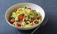 The light fresh flavours make this a tasty pasta dish.