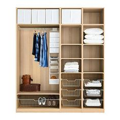 1000 images about wardrobes on pinterest pax wardrobe - Complementos armarios ikea ...