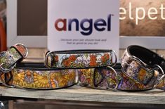What are the cool pets at Global Pet Expo 2017 wearing? Why, none other than Angel Pet Supplies new Angel Inked Tattoo collars!