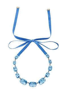 Jewel Y Large Necklace by ATELIER SWAROVSKI BY ROSIE ASSOULIN for Preorder on Moda Operandi