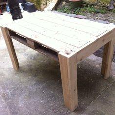 Paletten Tisch