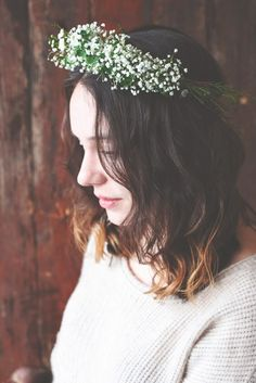 Clover Crown. Avoid getting pinched in style, with this precious do it yourself crepe paper clover crown.