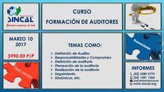 Conoce todas las responsabilidades, compromisos y características con las que debe contar un #Auditor. ¡INSCRÍBETE AL CURSO! http://www.sincal.org/cursos-de-capacitacion-auditores.html