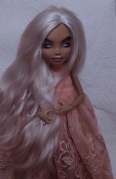 Koh I Noor, Faber Castell, Monster High, Howleen Wolf, Custom Dolls, Ever After, Wigs, Unique, Color