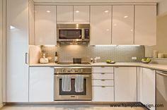 East Hampton Modern Condo Kitchen