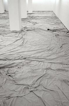 Wrapped Museum of Contemporary Art and Wrapped Floor and Stairway by Christo and Jeanne Claude #art