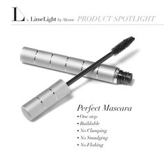 I used to think Younique 3D fiber lashes were amazing. Until I tried Limelight by Alcone's Perfect Mascara. No clumps, no falling lashes, and only $14