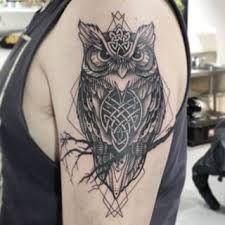 celtic owl tattoo - Google Search