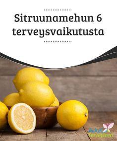 Sitruunamehun 6 terveysvaikutusta   Kotona tuoreeltaan puristettu #sitruunamehu on #herkullinen, yksinkertainen ja tehokas juoma, joka kohentaa terveyttä #monipuolisesti.  #Terveellisetelämäntavat