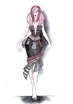 Very futuristic dress