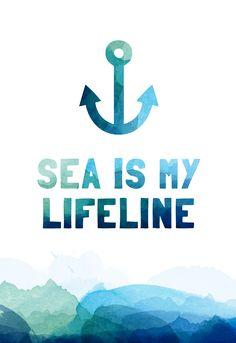 The sea is my Lifeline