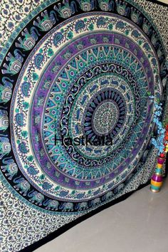 Tapestry mandala tapestry Hippie tapestry wall hanging Psychedelic Dorm Decor Picnic Beach Sheet