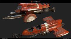 ArtStation - 3D Vehicles by TRACE studio, TRACE studio