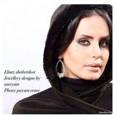 Elnaz Shakerdoost Persian Beauties, Iranian Beauty, Angelina Jolie Photos, Persian Girls, Makeup Tips, Actresses, Celebrities, People, Cinema