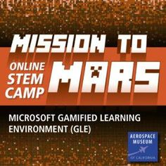 Interested in online only camps? Check out the Aerospace Museum of California Mission to Mars Online Minecraft STEM Camp! Learn the science of space exploration while building a complete mission-ready Mars colony in Minecraft! #kids #museum #summer #camp