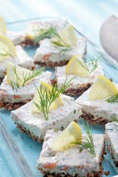 Lohi-tuorejuustopalat | Muut suolaiset leivonnaiset | Pirkka