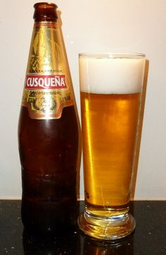 Cusquena - Peru. the beer that broke the sundial on macchu picchu while filming a comercial.