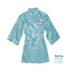 Items similar to Personalized Flower Girl Satin Robe with Script Name and Initial, Junior Bridesmaid Robe, Girls Satin Robe, flower girl gift idea, satin on Etsy Flower Girl Robes, Flower Girl Gifts, Bridal Party Robes, Popular Colors, Bridesmaid Robes, Our Girl, Initials, Your Style, Script