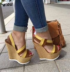 92679e2c46e Calzados Shoes Heels Wedges