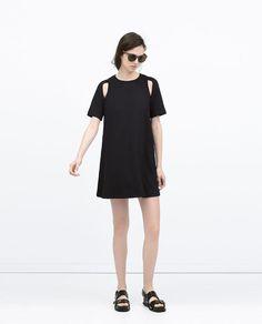 SHORT SLEEVE DRESS from Zara