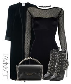 """Senza titolo #386"" by luanavii ❤ liked on Polyvore featuring Forte Forte, SPANX, STELLA McCARTNEY and Giuseppe Zanotti"