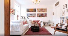 salón con decoración danés