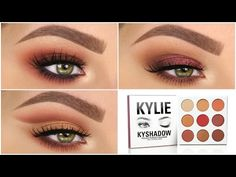 3 Looks 1 Palette | KYLIE COSMETICS: THE BURGUNDY PALETTE - YouTube