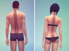 STATUS untested - TSR / NouchKa's Spine Tattoo Set