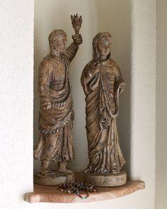 John-Richard Collection Tuscan Santos Figurines